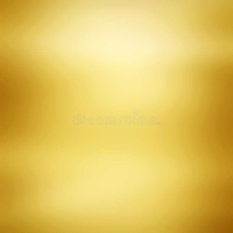 Fundo da textura do metal do ouro imagem de stock royalty free