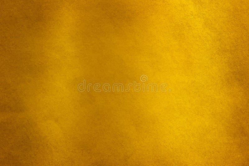 Fundo da textura do papel do ouro, fundo do ouro ilustração do vetor