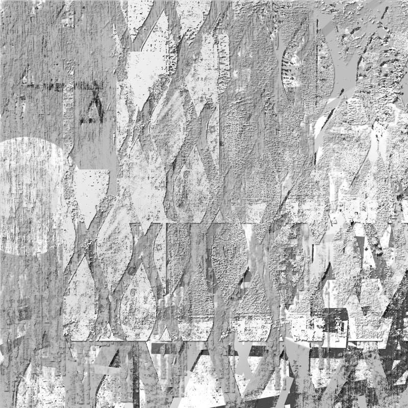 Fundo da textura do vintage de Grunge ilustração royalty free
