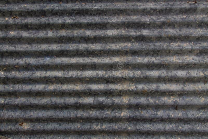 Fundo da textura do zinco foto de stock
