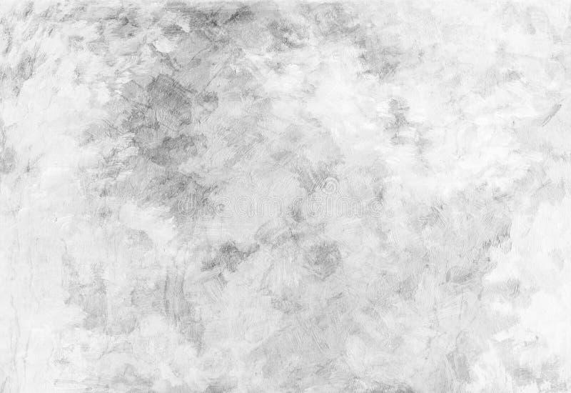 Fundo da textura grosseira branca da lona de manchas da pintura Limpe o fundo abstrato Nenhuma imagem da poeira com espaço da cóp fotografia de stock