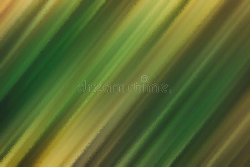 Fundo da textura ou teste padrão de vidro abstrato verde, molde criativo do projeto ilustração do vetor