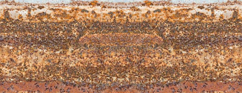 Fundo da textura da oxidação da placa de aço imagens de stock