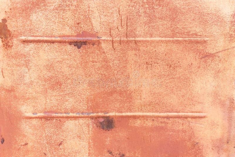 Fundo da textura oxidada do metal fotografia de stock royalty free
