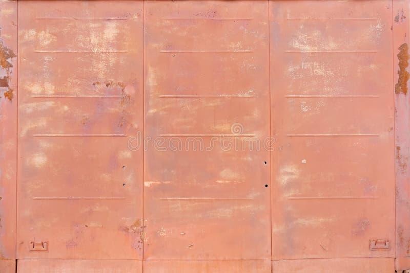 Fundo da textura oxidada do metal imagem de stock