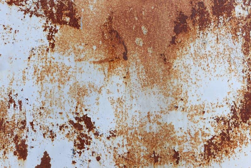 Fundo da textura oxidada do metal fotos de stock royalty free