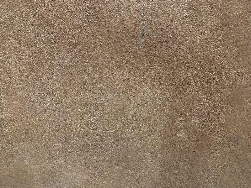 Fundo da textura da parede do cimento de Brown foto de stock royalty free