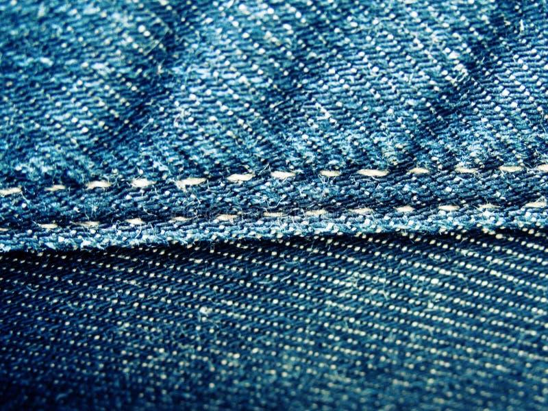 Fundo da textura velha das calças de brim do vintage imagem de stock royalty free