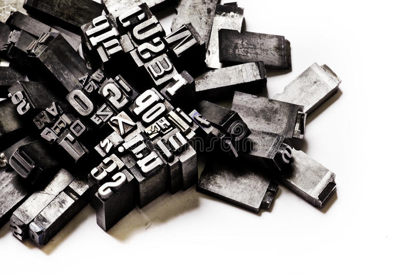 Fundo da tipografia imagem de stock