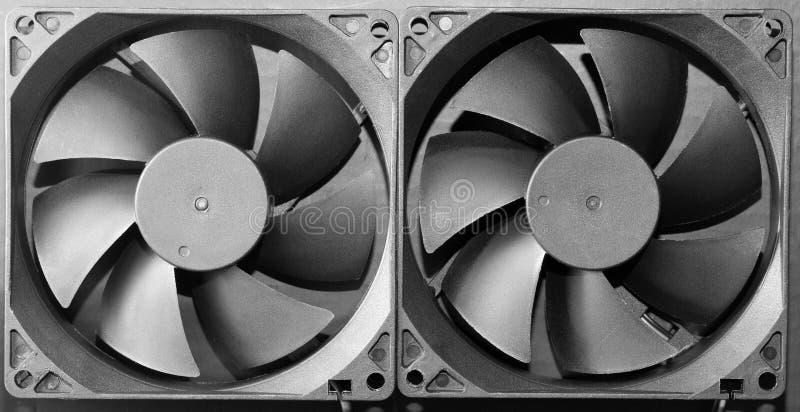 Fundo da turbina do ventilador fotos de stock royalty free