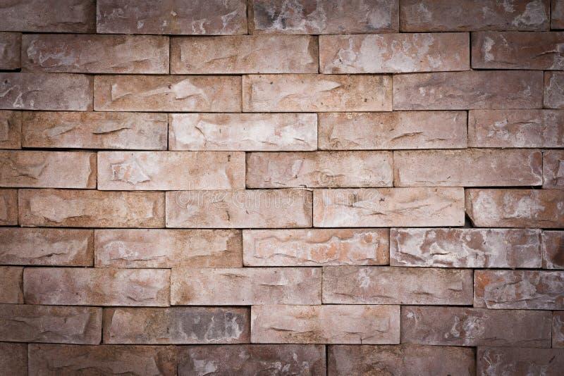 Fundo da vinheta da textura de pedra da parede de tijolo fotos de stock royalty free