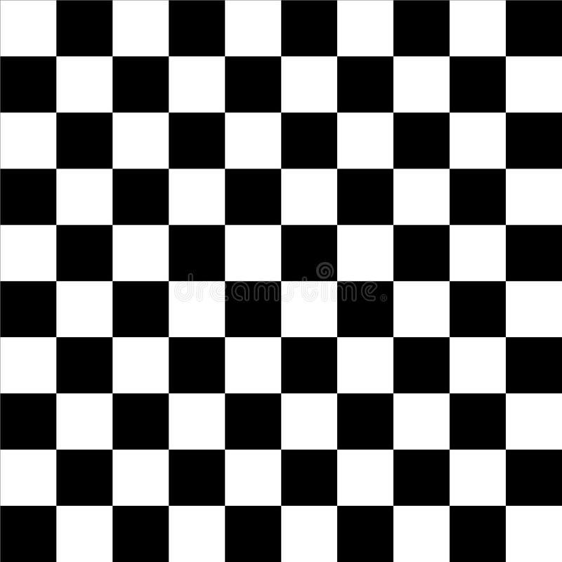 Fundo da xadrez do tabuleiro de damas ilustração royalty free
