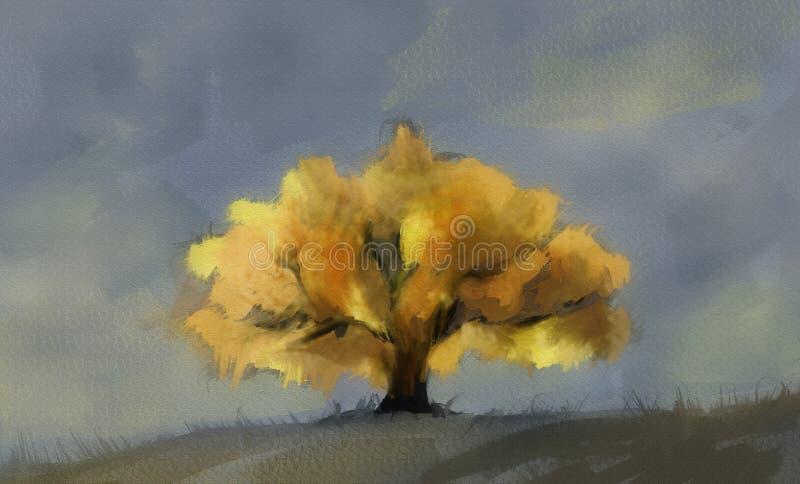 Fundo das árvores ilustração do vetor