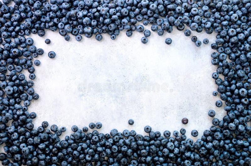Fundo das bagas do verão Vista superior Quadro do alimento com mistura sortido de morango, mirtilo Vitamina, vegetariano, vegetar fotografia de stock