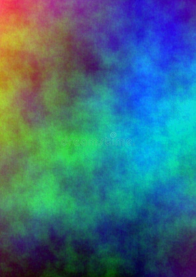 Fundo das cores de água ilustração do vetor