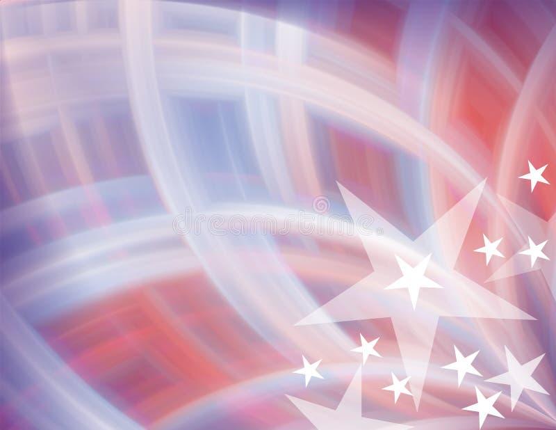 Fundo das cores dos EUA ilustração stock