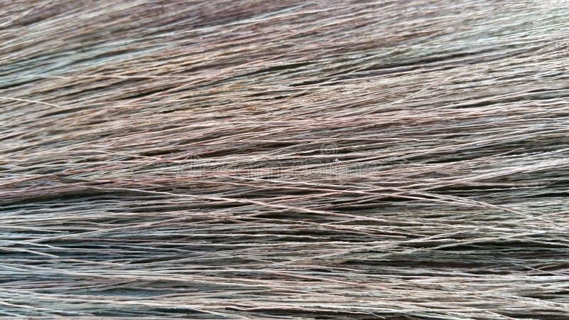 Fundo das fibras do cabo de vassoura imagens de stock
