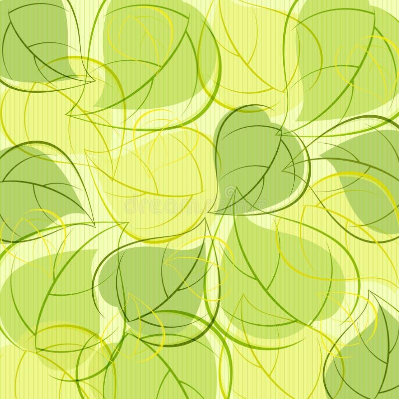 Fundo das folhas ilustração stock
