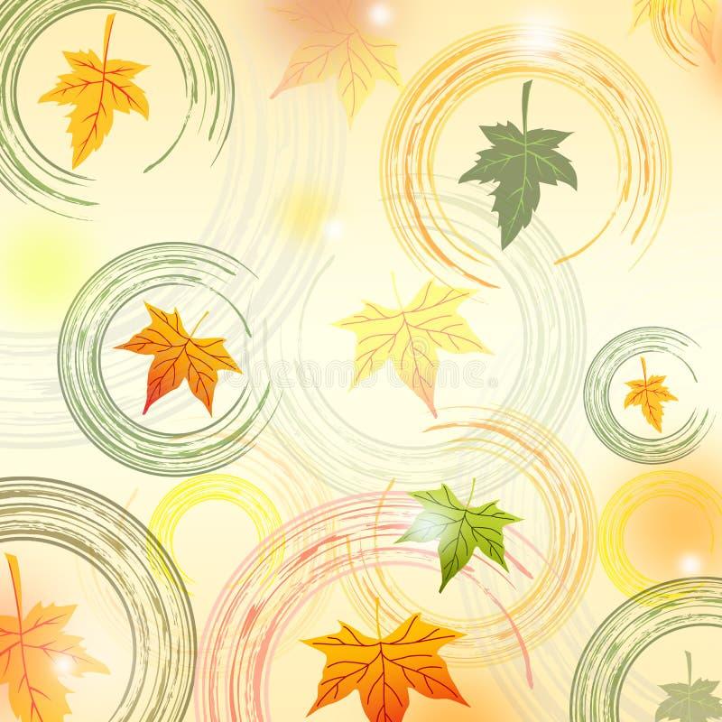 Download Fundo das folhas de outono ilustração stock. Ilustração de bege - 26509335