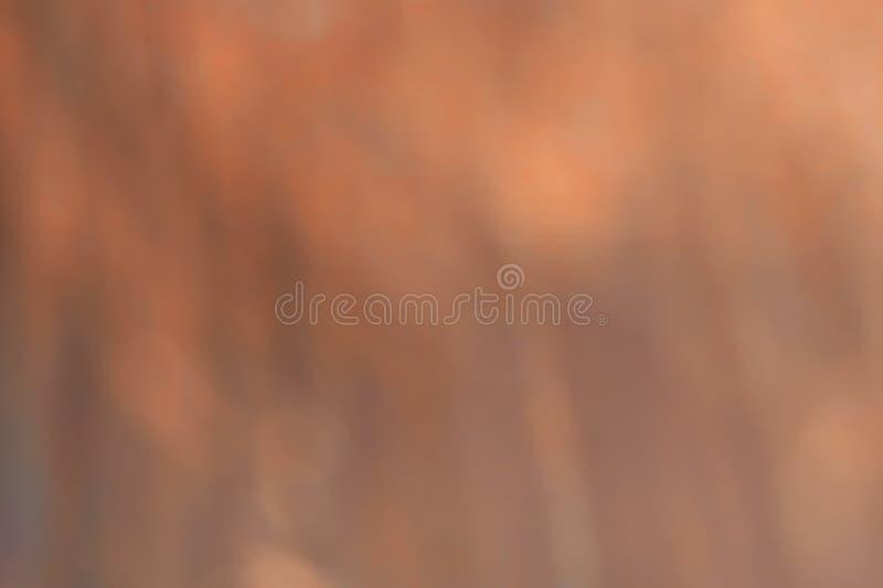 Fundo das luzes do vintage do brilho do marrom de Blured Sumário fotografia de stock royalty free