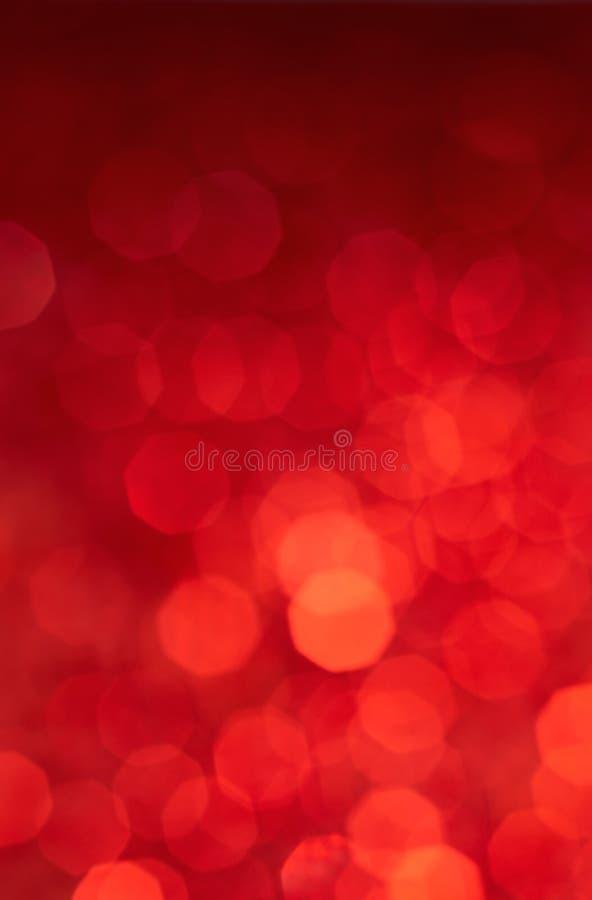 Fundo das luzes vermelhas