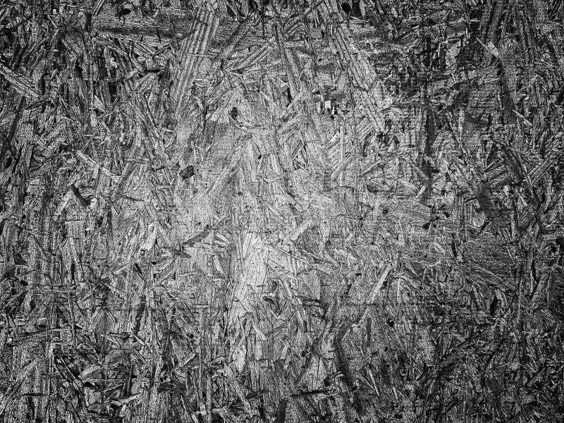 Fundo de aço do teste padrão do metal de madeira preto e branco da textura imagens de stock