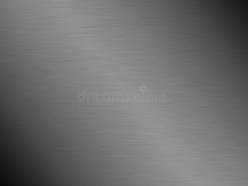 Fundo de aço escovado da textura do metal fotos de stock