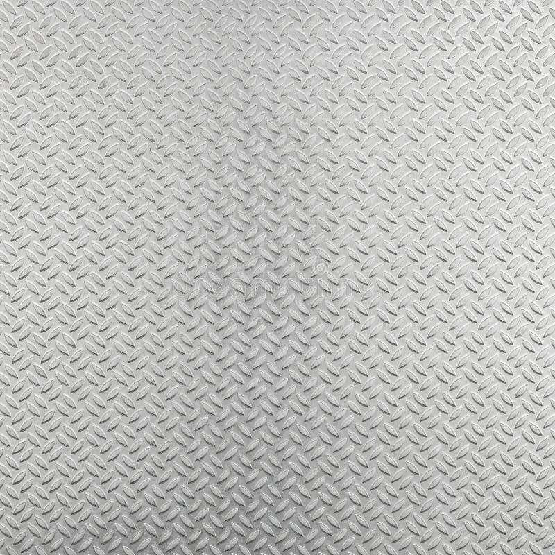 Fundo de alumínio abstrato da placa do verificador fotografia de stock