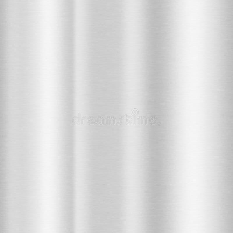 Fundo de alumínio da textura ilustração do vetor