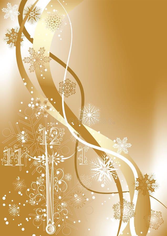 Fundo de ano novo, vetor