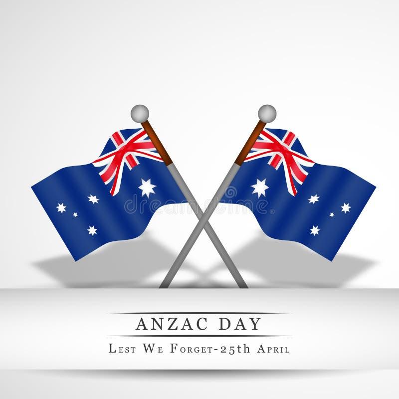 Fundo de Anzac Day ilustração stock