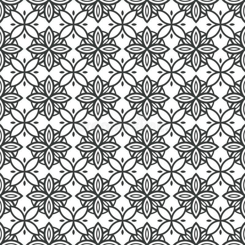 Fundo de Art Deco Seamless Pattern Decorative ilustração royalty free