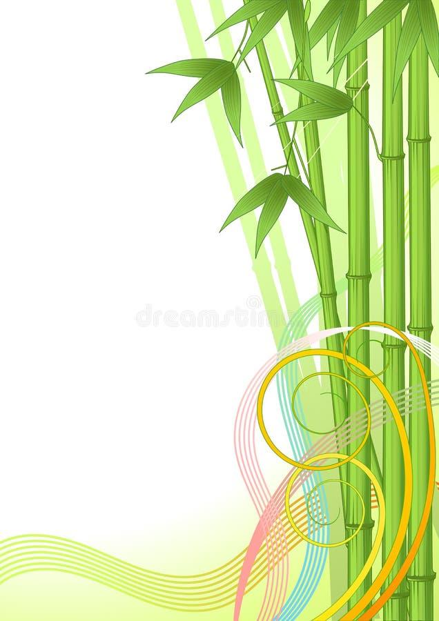 Download Fundo de bambu ilustração do vetor. Ilustração de illustrator - 10053689
