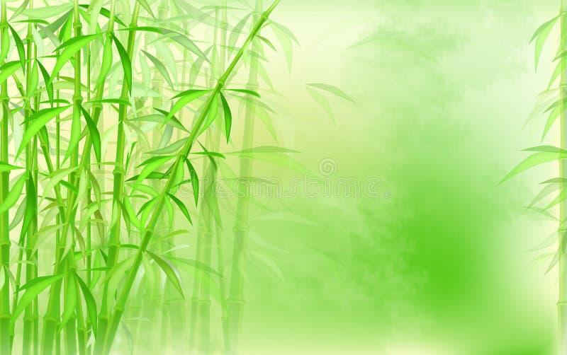 Download Fundo de bambu ilustração stock. Ilustração de estilo - 16851063