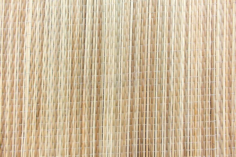 Fundo de bambu natural da toalha de mesa fotografia de stock royalty free