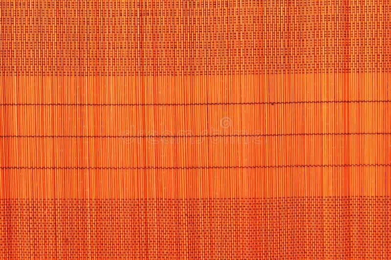 Fundo de bambu webbed Handmade do guardanapo imagem de stock royalty free