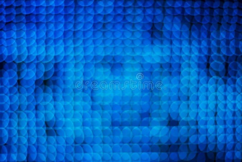 Fundo de borrão do bokeh das luzes dos círculos imagem de stock