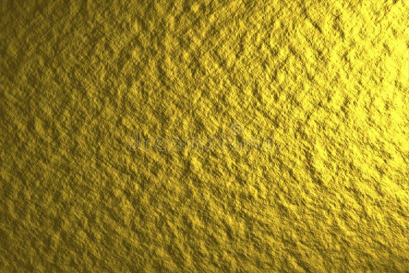 Fundo de brilho dourado foto de stock royalty free