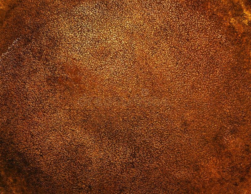 Fundo de bronze antigo fotografia de stock