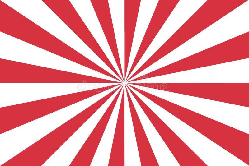 Fundo de burst de cor branca e vermelha para impressão, presente,web,sucata Design de ilustração fotos de stock royalty free