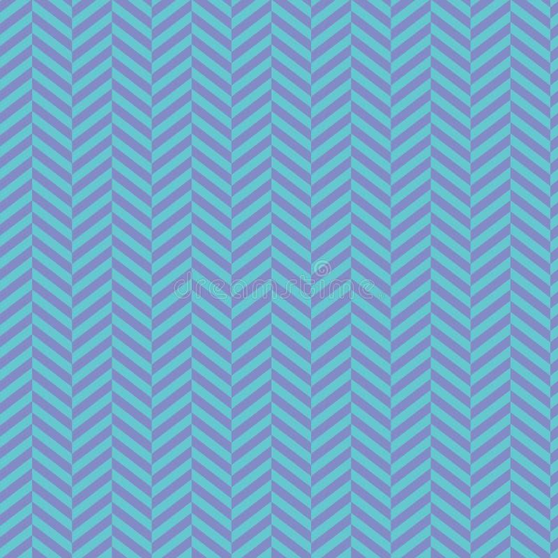 Fundo de Chevron Patern sem emenda descascado azul Projeto gráfico da forma geométrica Ilustração do vetor Te abstrato à moda mod ilustração stock