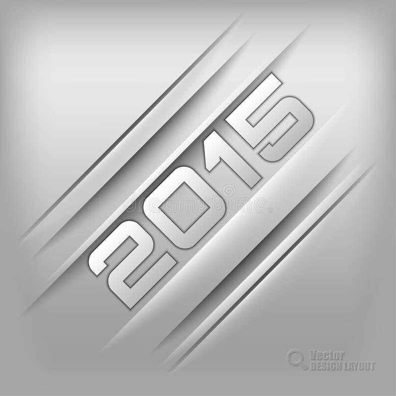Fundo 2015 de Chrom ilustração do vetor