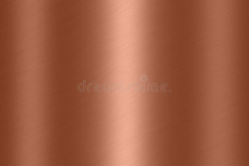 Fundo de cobre da textura imagens de stock royalty free
