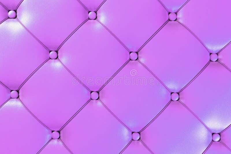 Fundo de couro cor-de-rosa ilustração royalty free