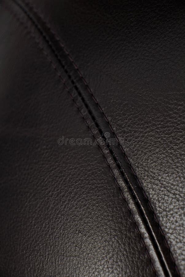 Fundo de couro da textura foto de stock