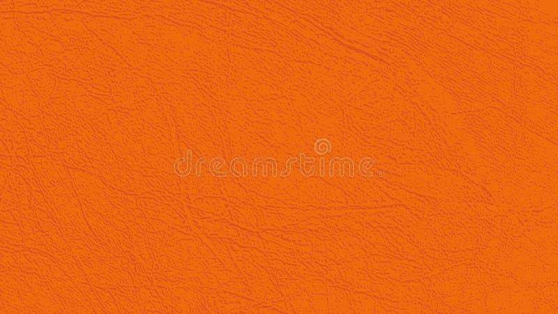 Fundo de couro da textura, o natural ou do falso da pele no matiz castanho-avermelhado ilustração do vetor