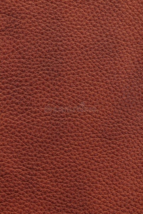 Fundo de couro de Brown fotos de stock