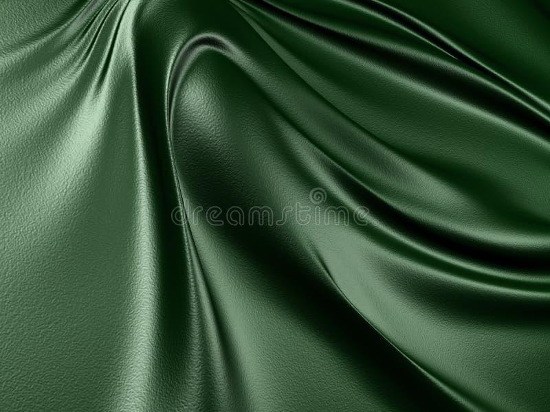 Fundo de couro escuro elegante de pano imagem de stock
