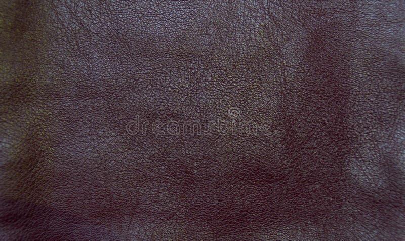 Fundo de couro marrom foto de stock