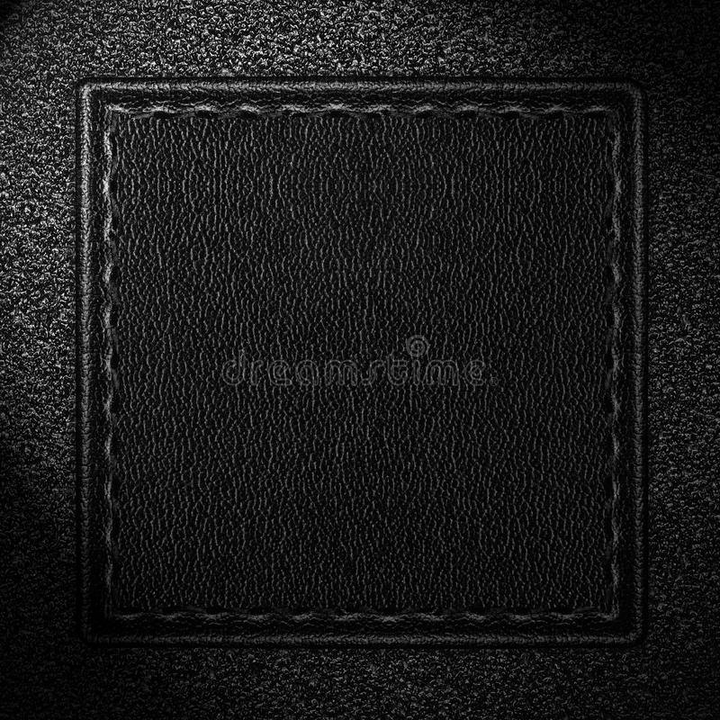 Download Fundo de couro preto foto de stock. Imagem de tela, grão - 29835220